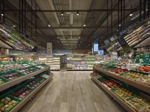 El primer Supermercado del Futurofue inaugurado en Milán