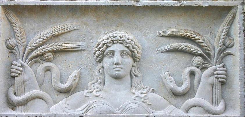 mito griego diosa agricultura