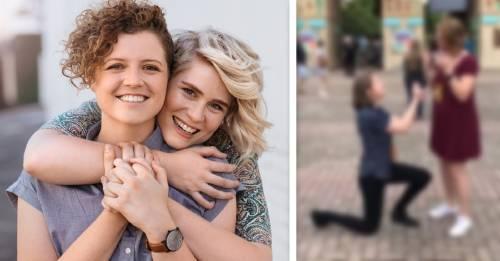 Esta propuesta de matrimonio se hizo viral, y te encantará descubrir por qué