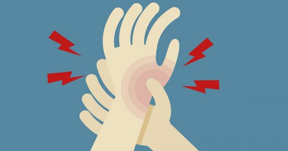 como aliviar el dolor de manos