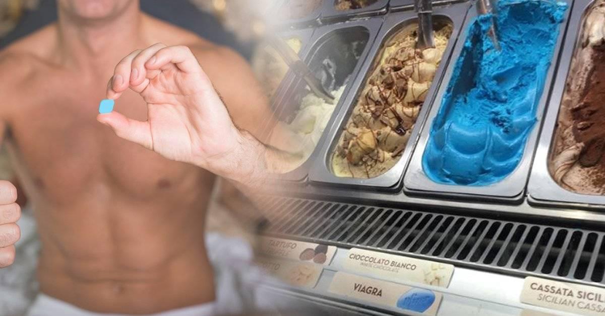 Qué hay detrás del helado de Viagra que se viralizó en las redes sociales