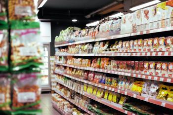 Alimentos ultraprocesados en el supermercado