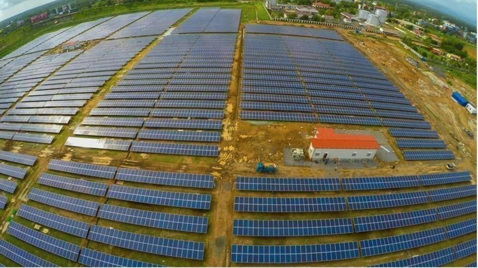 Aeropuerto de Cochin Energía solar- india