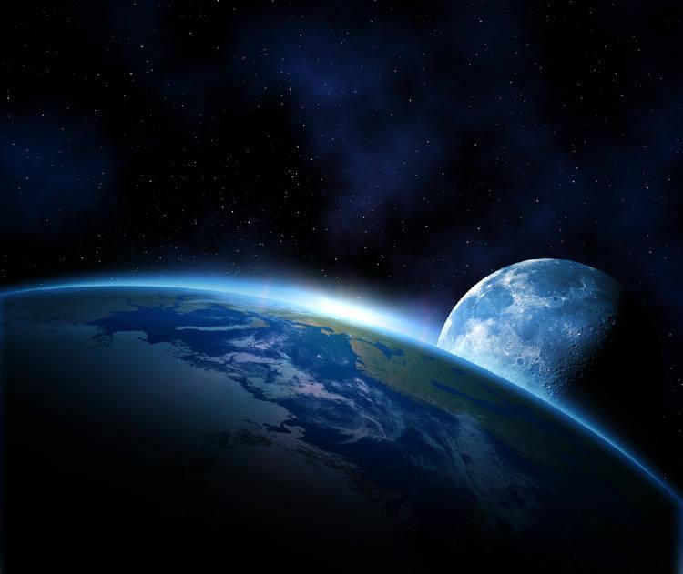 ¿Fue la luna parte de la tierra en algún momento?