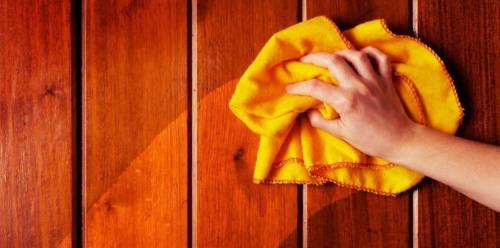 4 limpiadores caseros para madera