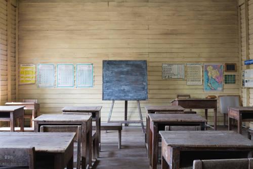 escuela salón de clases