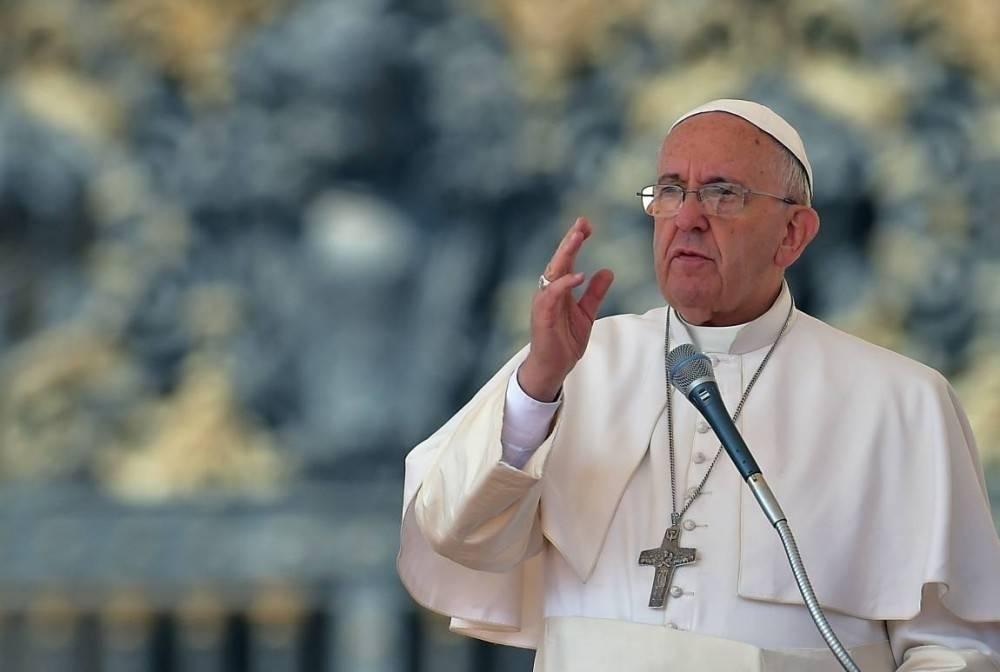 El Papa llamó a una revolución verde