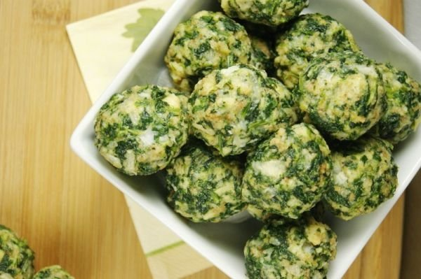 Spinach Balls_Top View