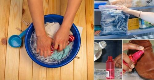 12 truquitos para salvar tu ropa y calzado cuando todo parece perdido