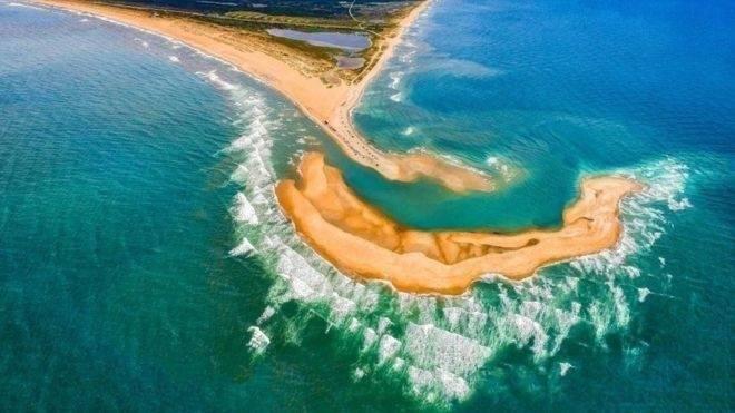 De dónde viene la misteriosa nueva isla que se formó frente a EEUU y por qu
