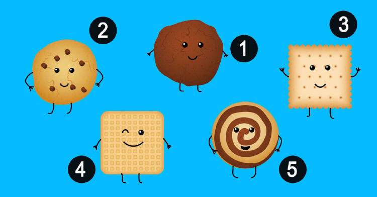 Test: La galleta que elijas cuenta qué emociones desconoces