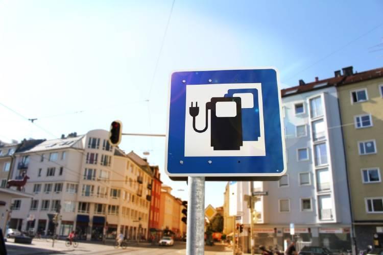 estaciones de recarga para automóviles eléctricos