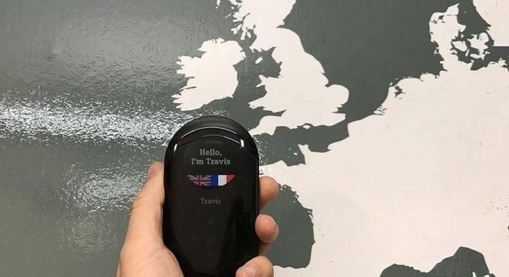 Travis, un traductor universal de bolsillo de todos los idiomas
