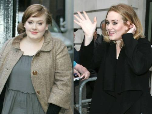Adele, Dieta