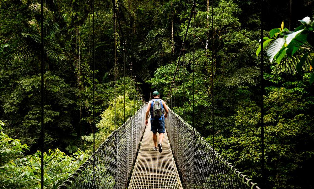 Costa Rica: ahora los turistas podrán compensar su huella de carbono
