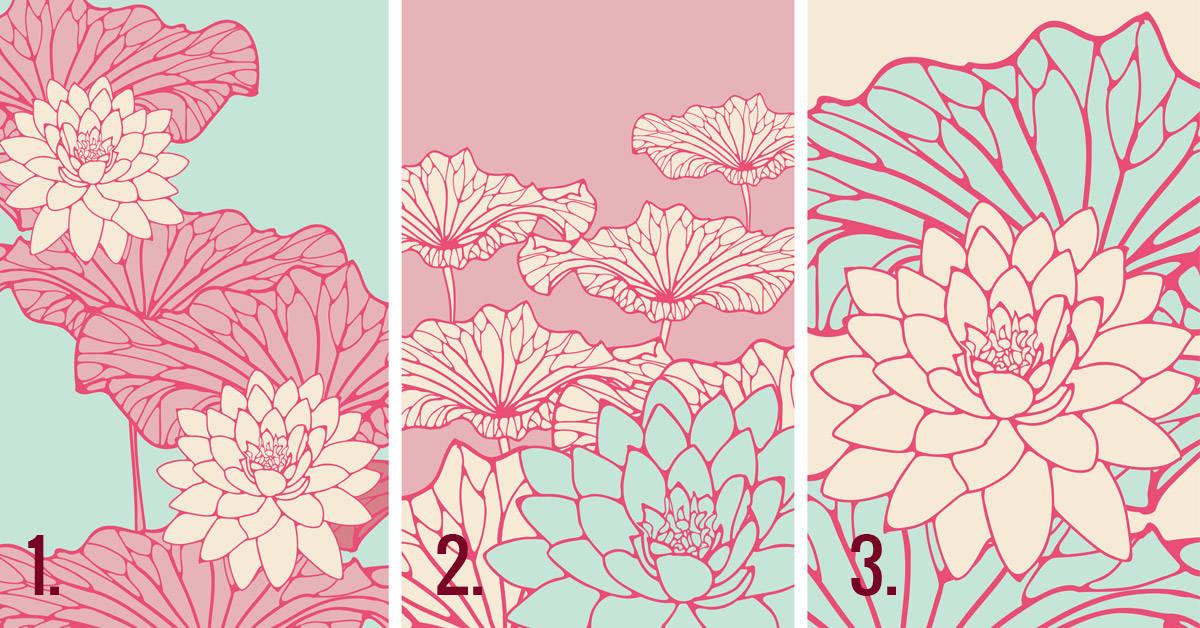 Elige una de estas flores japonesas para conocer tu fortuna