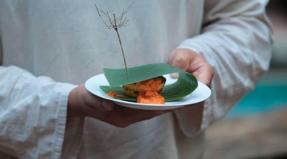 Chipá-guasú en la selva