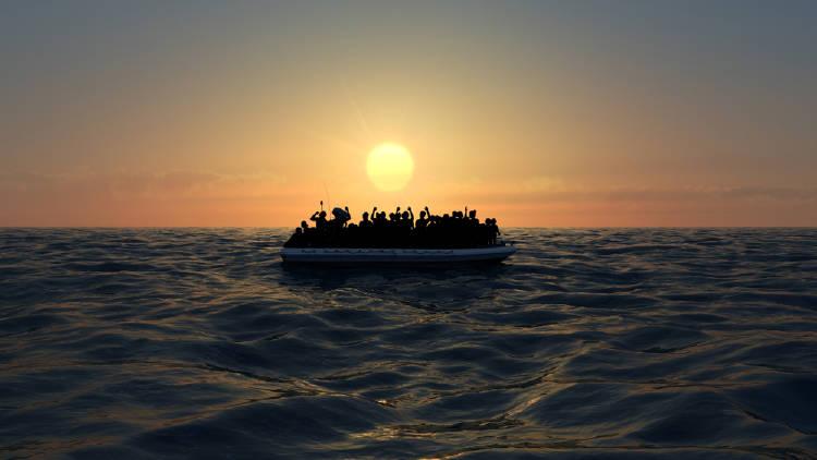 personas bote