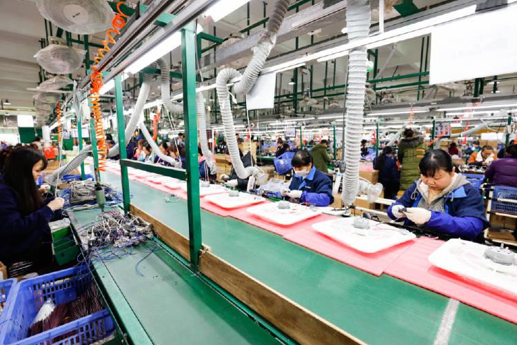 Fábrica de productos electrónicos
