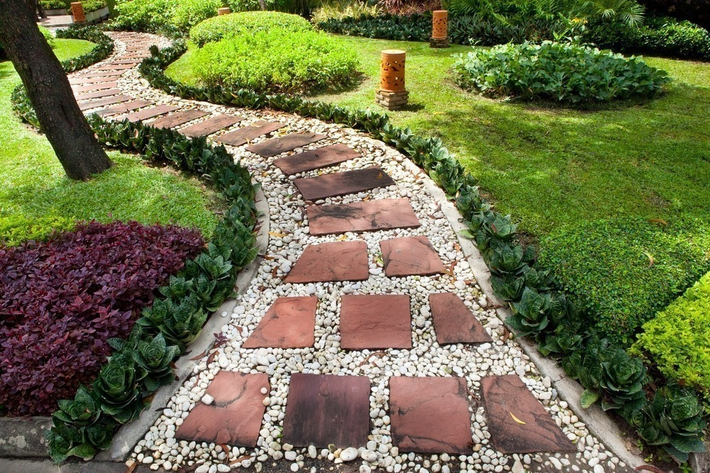 Ideas Para Decorar Tu Jardin Con Senderos - Decoracin-jardn