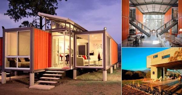 15 fabulosas construcciones hechas a partir de containers