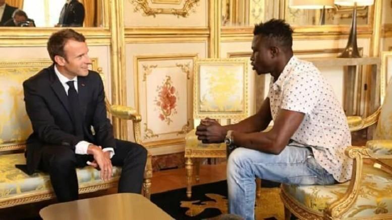 El gobierno francés anunció este lunes que Mamadou Gassama recibiría la nacionalidad francesa