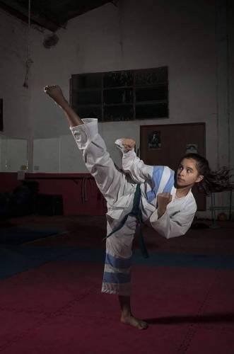 La Campeona Mundial de Taekwon-do, ¡es una niña de 13 años!