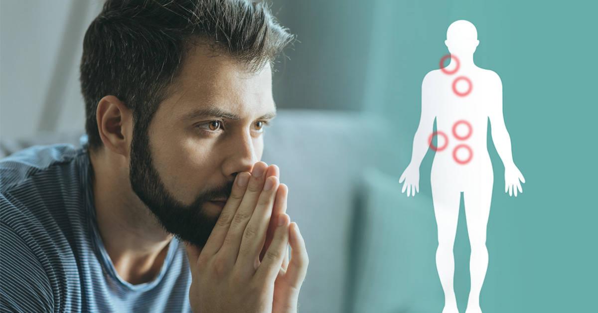 Anatomía de las emociones: en qué partes de nuestro cuerpo se alojan
