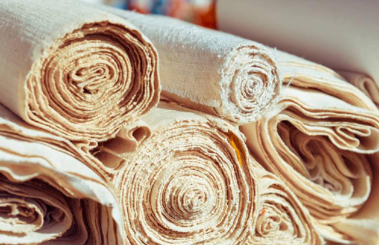 Tejidos de fibras naturales