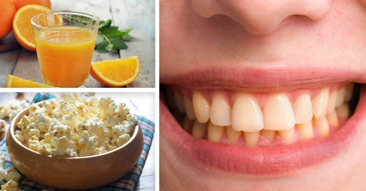 Estas son las comidas que están arruinando tus dientes sin darte cuenta