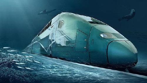 El ambicioso plan de China para construir un tren submarino que conecte con Esta