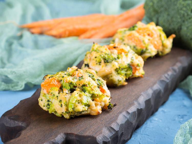 croquetas brocoli zanahoria