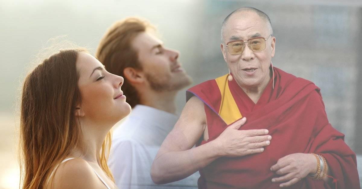 Esto es lo que recomienda el Dalai Lama para combatir la envidia y las malas vibras
