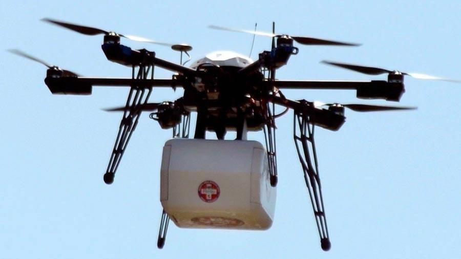 Drones ambulancia para llevar medicinas a sitios remotos