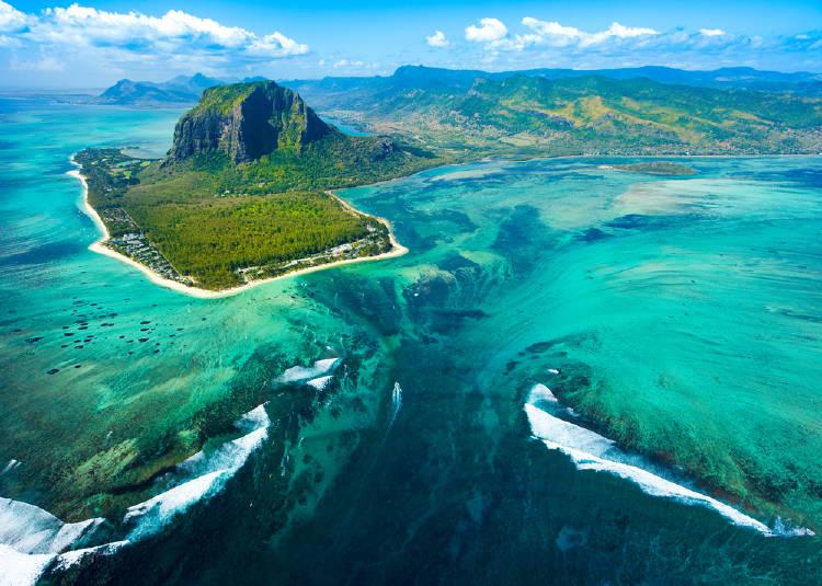 Fotografía de la isla Mauricio
