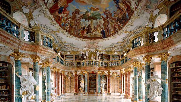 Biblioteca-de-la-Abadía-de-Wiblingen