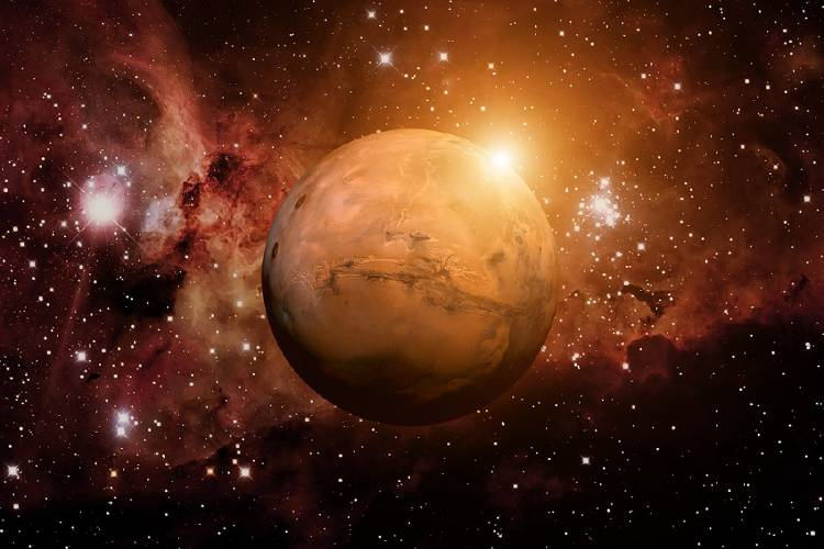 marte planeta espacio