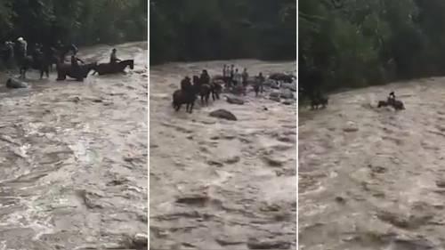 El conmovedor rescate de 41 scouts en Colombia