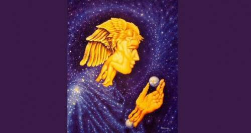 ¿Qué ves en esta imagen? Tu respuesta revelará un mensaje de los ángeles p..