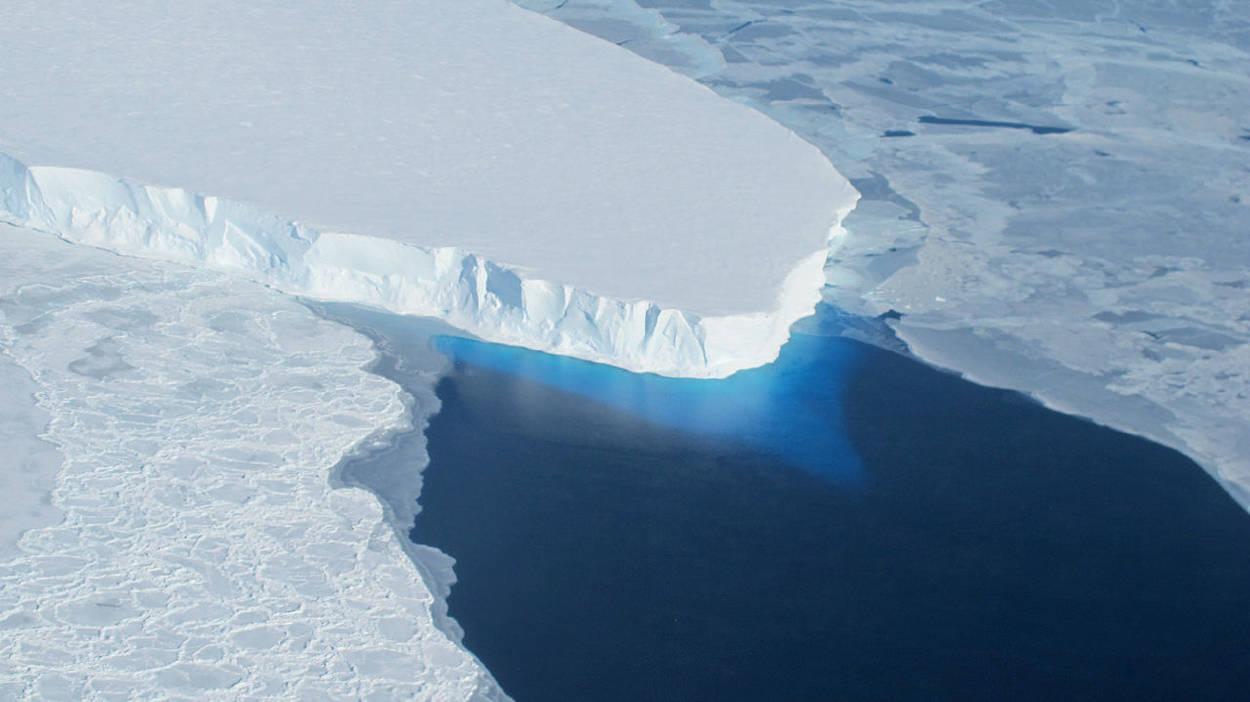 El glaciar del Juicio Final se derrite cada vez más rápido