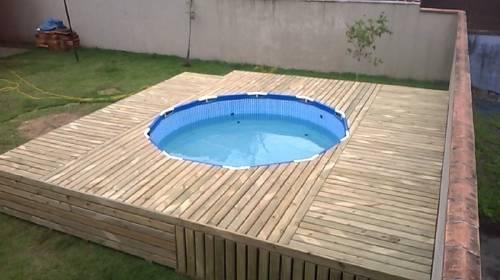 Cómo hacer una cubierta económica para tu piscina