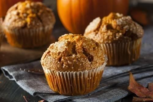 Muffins de calabaza fáciles y deliciosos