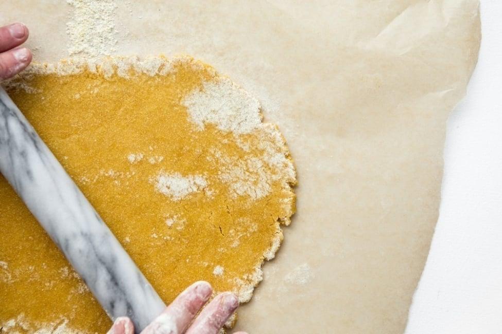 cómo hacer pan de garbanzos