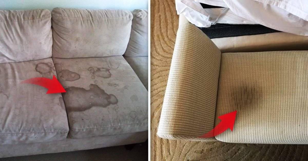 2 trucos infalibles para eliminar malos olores y manchas en el sofá que saldrán casi gratis