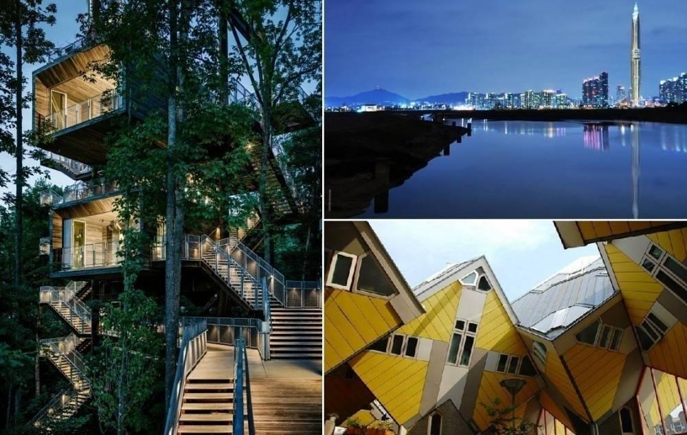 5 muestras de la arquitectura más extraña del mundo