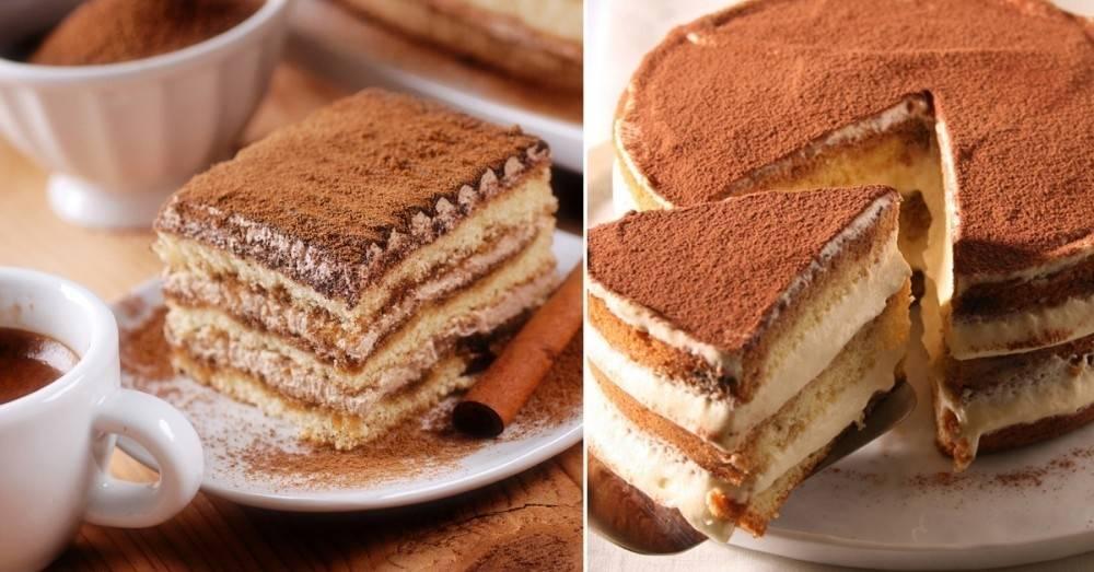 Torta Tiramisú italiana