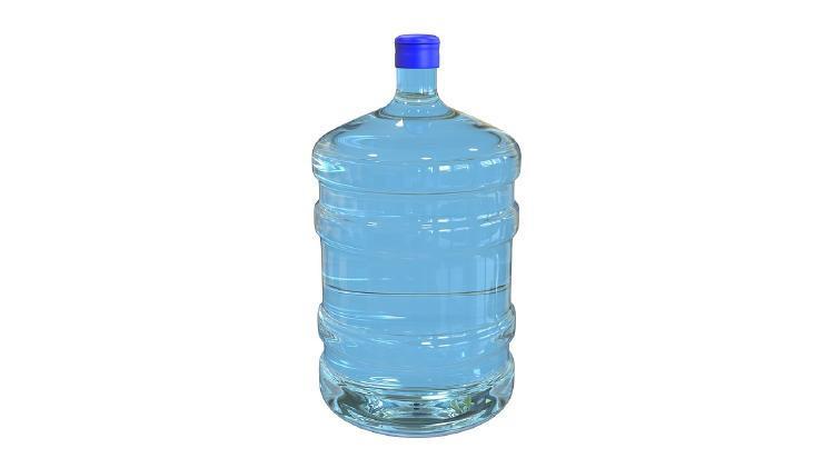 bidon botella plastico