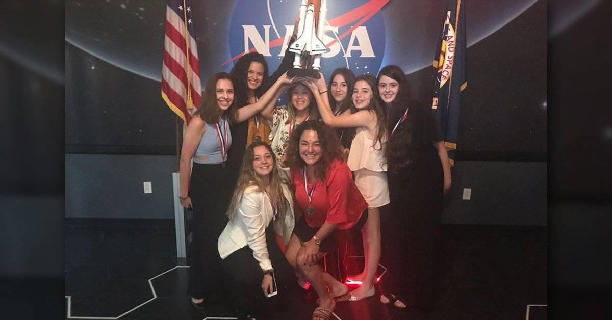 Estudiantes argentinas ganan importante premio de la NASA