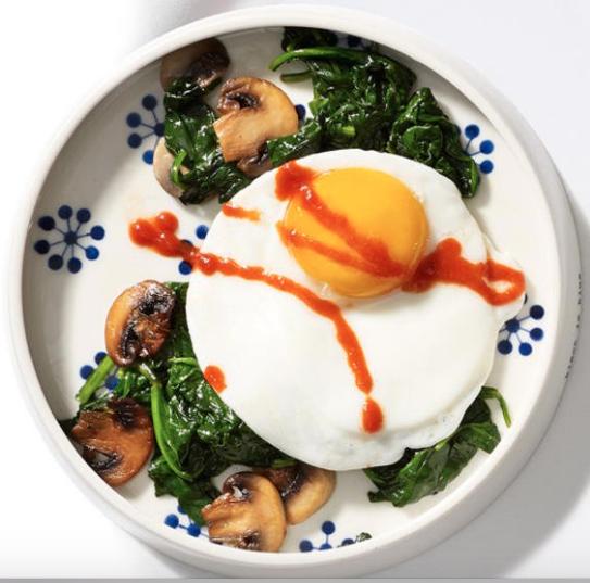 huevos pérdida de peso