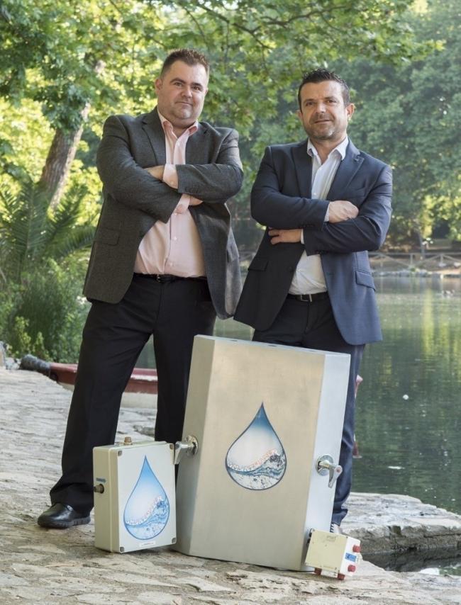 Francisco Pelegero y Rafael Rodrigo son los creadores de Smartwater